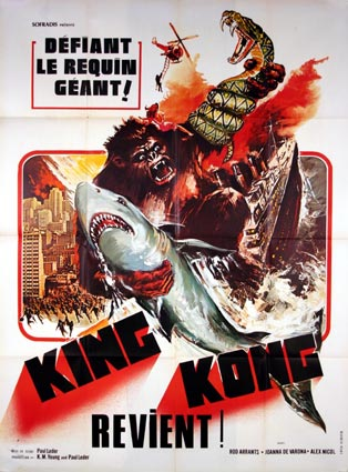 King-Kong Revient en streaming gratuit