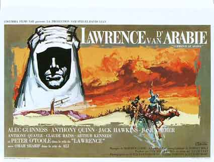 Lawrence D'arabie par David Lean
