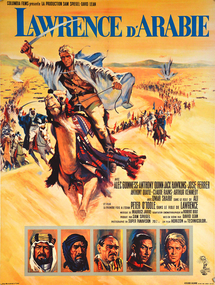 Lawrence Of Arabia by David Lean (23 x 33 in)