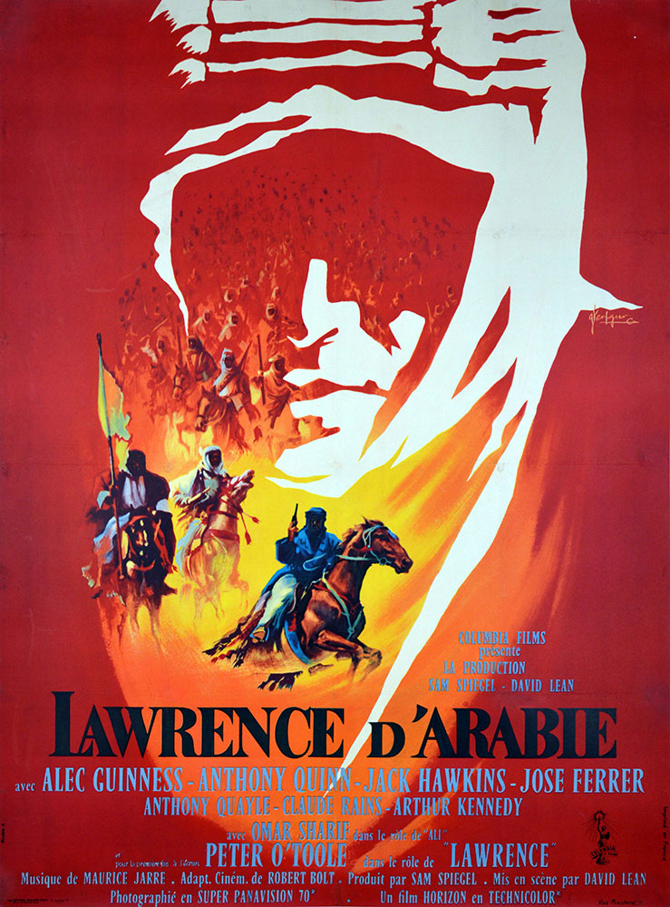 Lawrence D'arabie par David Lean (120 x 160 cm)