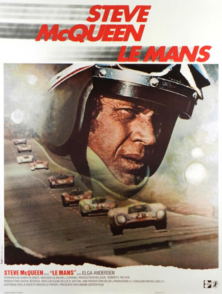 Le Mans by Lee Katzin (47 x 63 in)