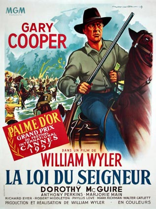 Friendly Persuasion by William Wyler (47 x 63 in)