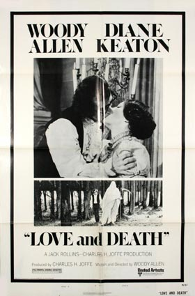Love And Death by Woody Allen (27 x 41 in)