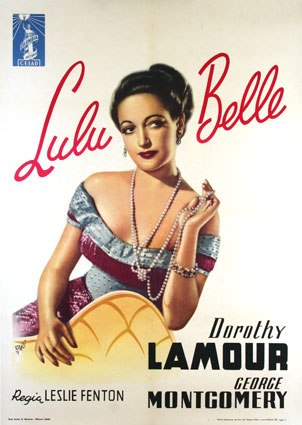 Lulu Belle by Leslie Fenton (39 x 55 in)