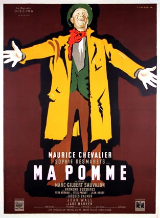 Ma Pomme by Marc Gilbert Sauvageon