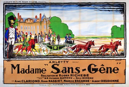 Madame Sans Gene by Roger Richebe