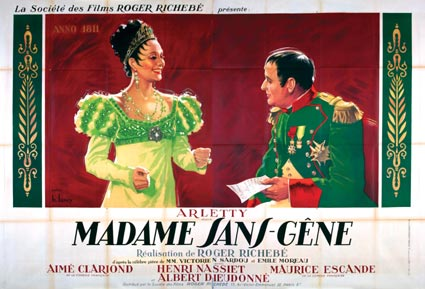 Madame Sans Gene by Roger Richebe (63 x 94 in)