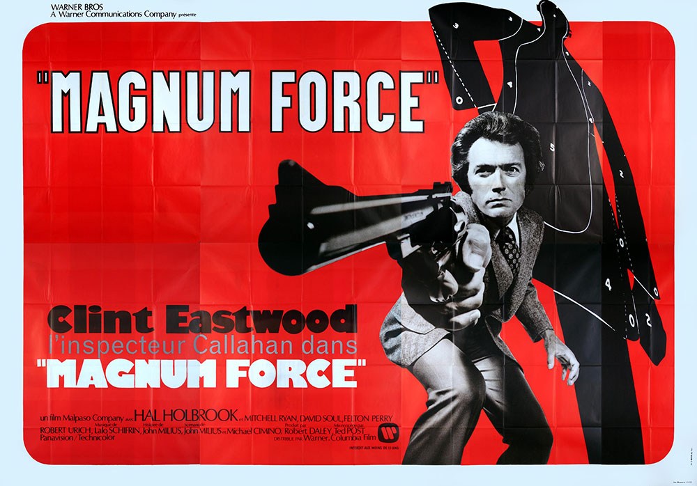 Magnum Force by Ted Post (120 x 160 in)