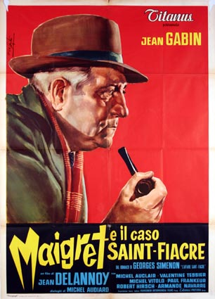 Maigret Et L'affaire St Fiacre by Jean Delannoy (39 x 55 in)