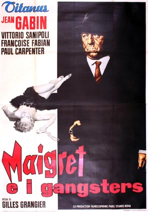Maigret Voit Rouge by Gilles Grangier ()