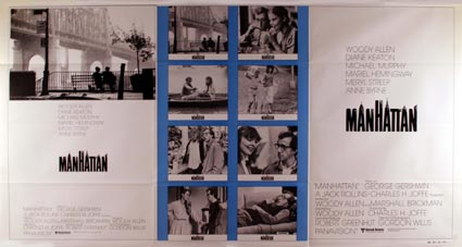 Manhattan by Woody Allen (41 x 81  in)