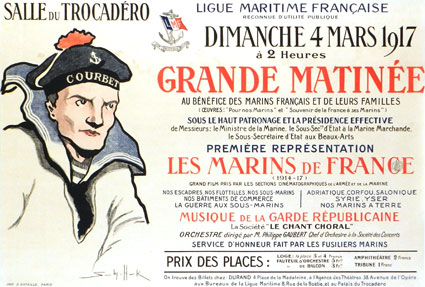 Marins De France (les) by - (33 x 47 in)