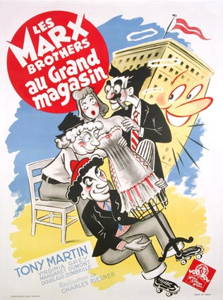 MARX BROTHERS AU GRAND MAGASIN (les)