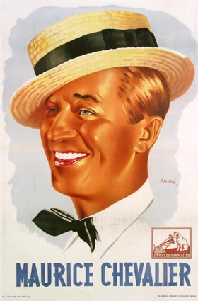 Maurice Chevalier by -
