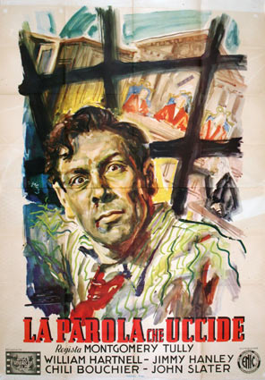 Murder In Reverse by Montgomery Tully (55 x 78 in)