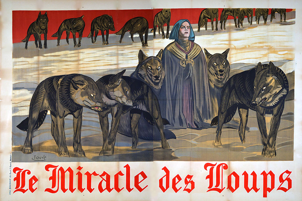 Miracle Des Loups (le) by Raymond Bernard (63 x 94 in)