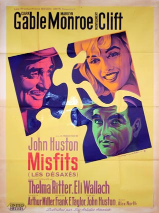 Misfits (the) by John Huston (47 x 63 in)