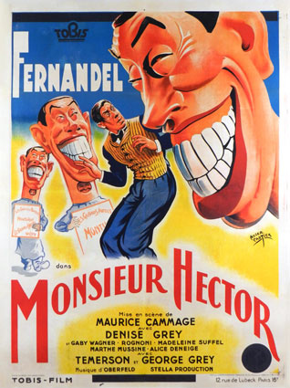 Monsieur Hector by Maurice Cammage (47 x 63 in)