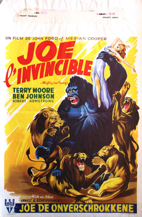 Mighty Joe Young by Ernest Schoedsack (14 x 22 in)