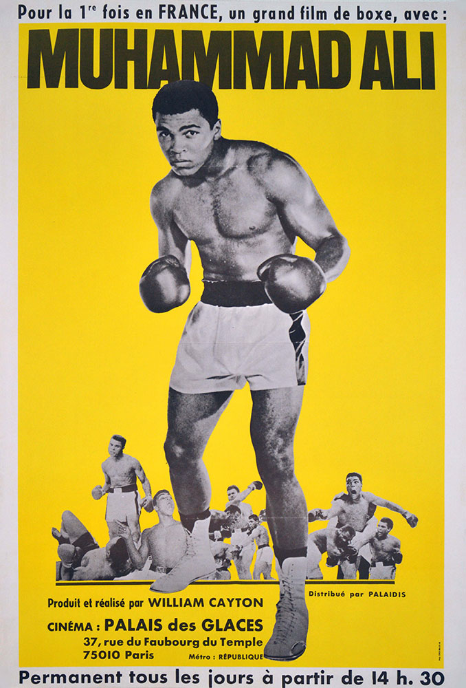 Muhammad Ali par William Clayton (60 x 80 cm)