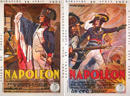 NAPOLEON R-31 (set of 2 posters)