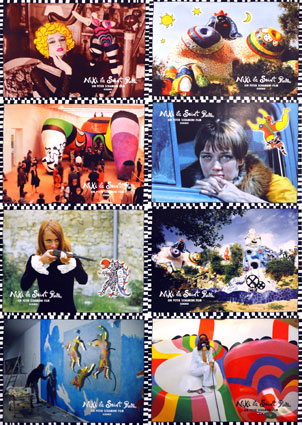 Niki De St Phalle (set Of 8 Photos) by Peter Schamoni (8 x 12 in)