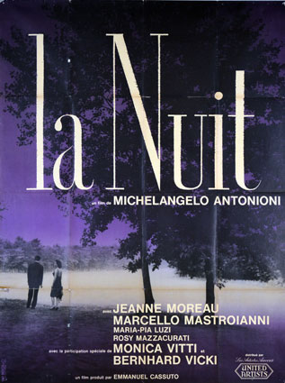 Notte (la) by Michelangelo Antonioni