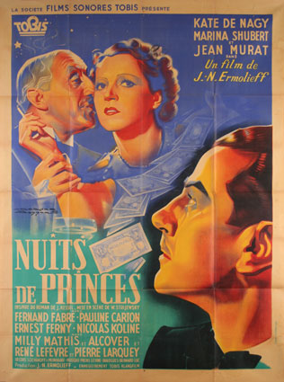 Nuits De Princes by J N Ermolieff (47 x 63 in)