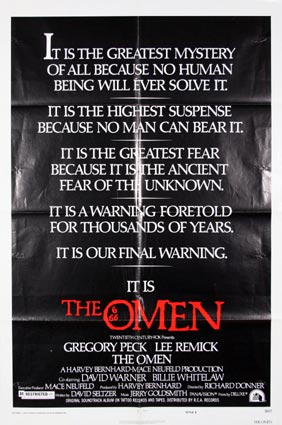 Omen (the) by Ricahrd Donner (27 x 41 in)