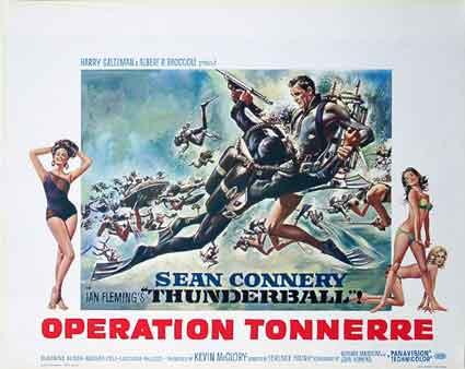 Operation Tonnerre par Terence Young (35 x 55 cm)