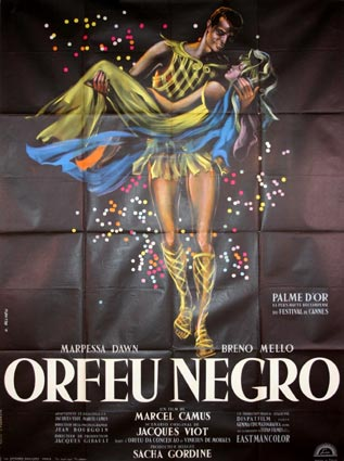Orfeu Negro by Marcel Camus (47 x 63 in)