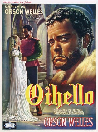 Othello par Orson Welles