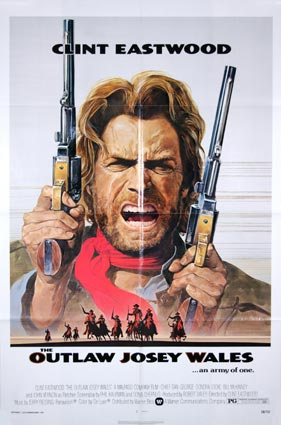 Outlaw Josey Wales (the) by Clint Eastwood (27 x 41 in)