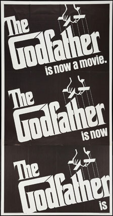 Godfather (the) by Francis Ford Coppola (41 x 81 in)