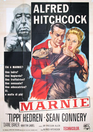 Marnie by Alfred Hitchcock (55 x 78 in)