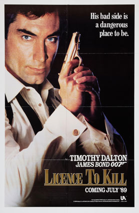 Licence To Kill by John Glen