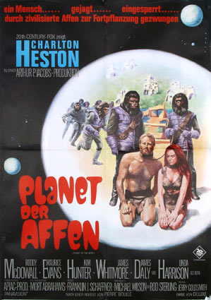 Planet Of The Apes by - (23 x 33 in)