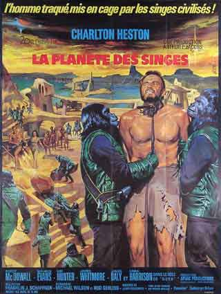 Planet Of The Apes by Franklin Schaffner (47 x 63 in)
