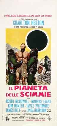 Planet Of The Apes by Franklin Schaffner (13 x 28 in)
