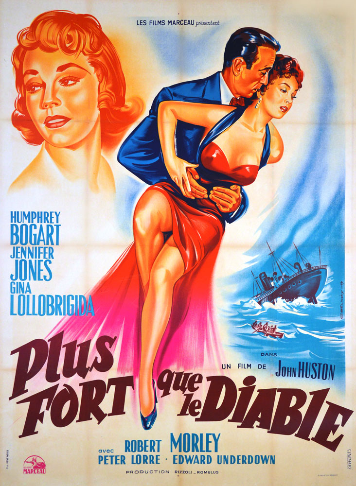 Plus Fort Que Le Diable par John Huston (120 x 160 cm)