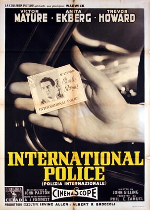 Police Internationale par John Gilling ()