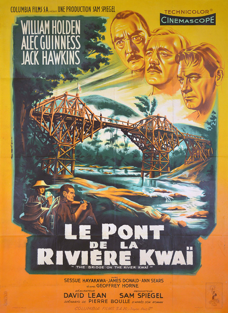 Bridge On The River Kwai (the) by David Lean (47 x 63 in)