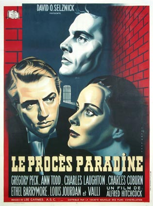 Paradine Case (the) by Alfred Hitchcock