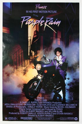 Purple Rain by Albert Magnoli (27 x 41 in)