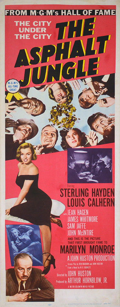 Asphalt Jungle R-59 by John Huston