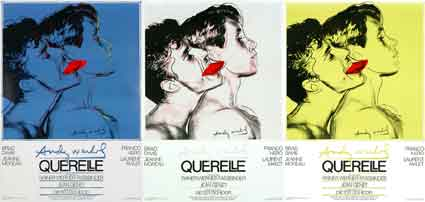 Querelle (set Of 3 Posters) by Rainer Werner Fassbinder ()