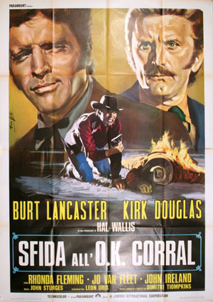 Gunfight At The Ok Corral by John Sturges (55 x 78 in)