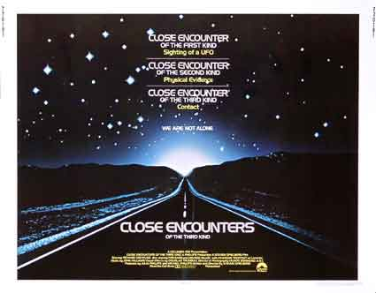 Close Encounters Of The Third Kind by Steven Spielberg ()