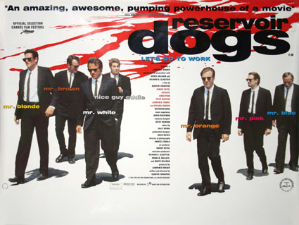Reservoir Dogs by Quentin Tarantino