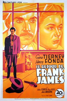 RETOUR DE FRANK JAMES (le)
